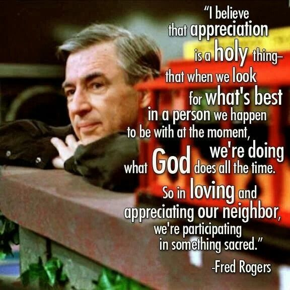 Only the Manager: I Miss Mr. Rogers