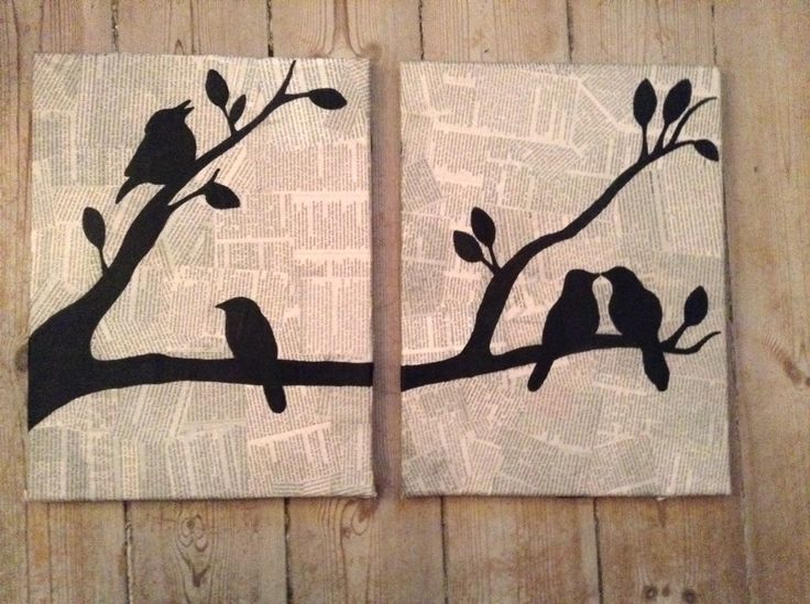 Recycle Wood Paintings