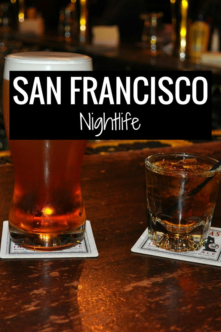 San Francisco nightlife, bars, restaurants, theater, happy hours and more.