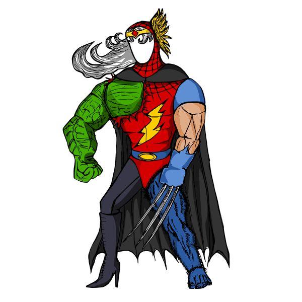 Lekcja Muzeum w Gliwicach - superbohater - tworzenie profilu postaci (RPG)