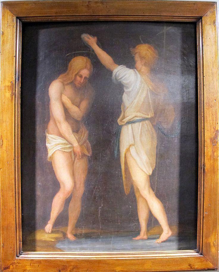 Pontormo, battesimo di cristo, 1514 ca. - Category:Carro di San Giovanni Battista - Wikimedia Commons