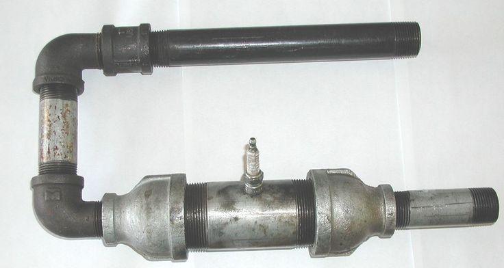 lockwood-hiller pulse jet design using Plumbing Parts - Google Search