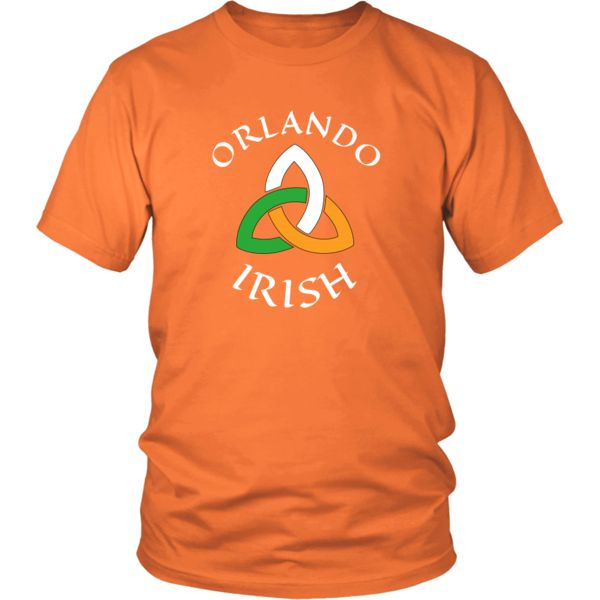 "Saint Patrick's Day - "" Orlando Irish Parade "" - custom made  funny t-shirts."