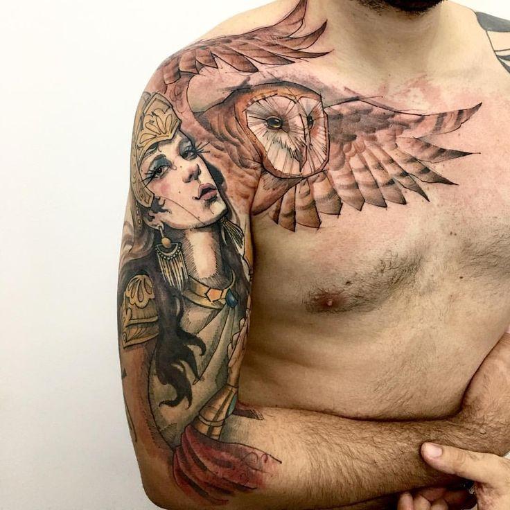 Best 25 athena tattoo ideas on pinterest greek goddess for Body art tattoos lincoln