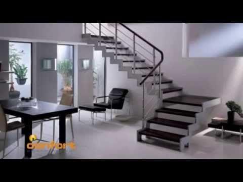 encuentra este pin y muchos ms en escaleras de deyagarzon escaleras interiores metalicas idea de escalera