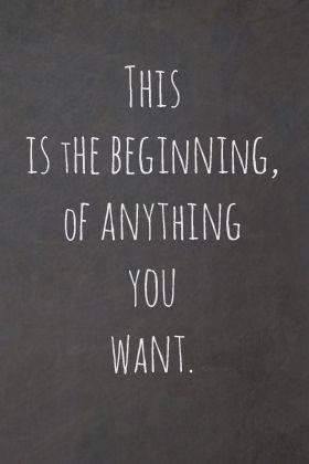 The beginning....