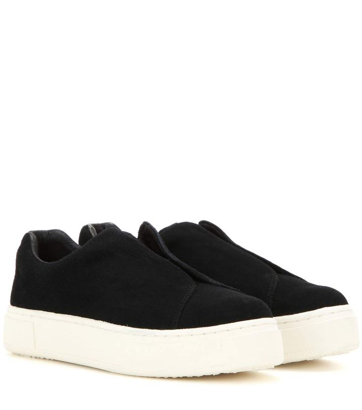 Eytys - Doja suede slip-on sneakers | mytheresa.com