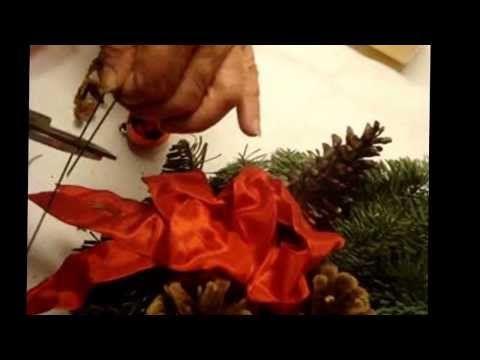 Neues Video Adventskranz selber binden + Anleitung oder kaufen http://www.flora-shop.org/Adventskraenze:::46.html  im  Geschenkartikel Onlineshop