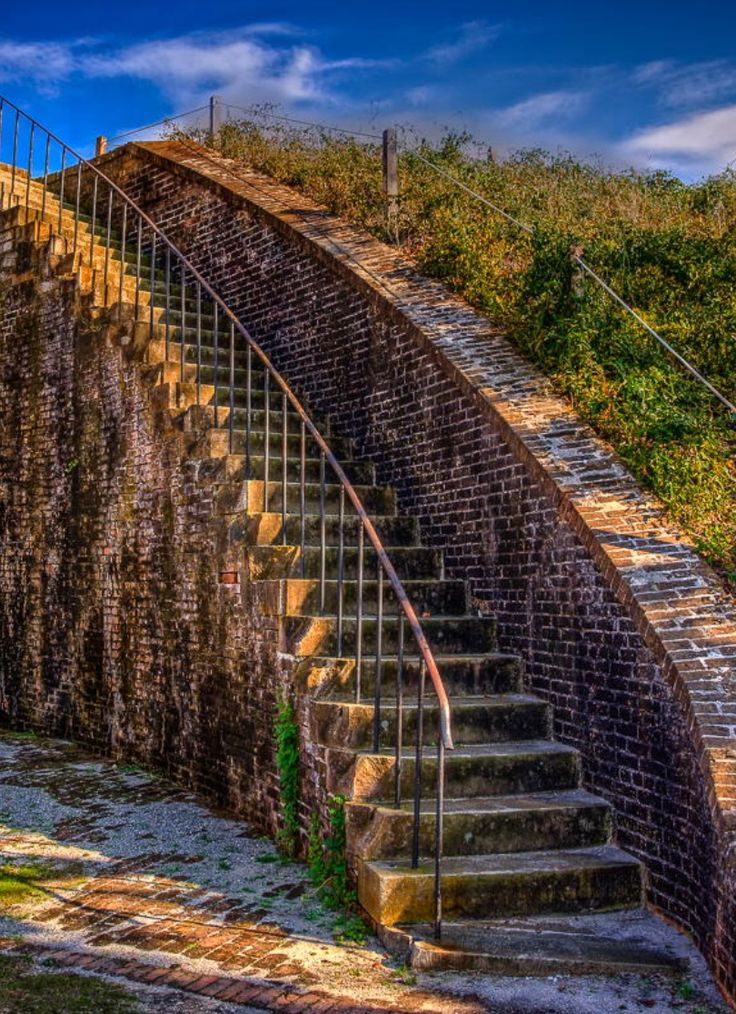 Fort Pickens... Santa Rosa Island, Florida... If not for Fort Sumter (SC) the Civil War would have started here in Pensacola Harbor.