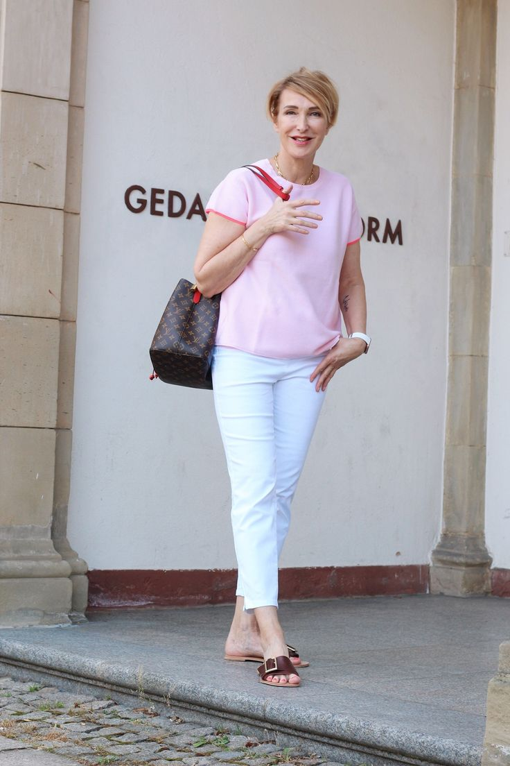Die Sommerhose – weiße Jeans