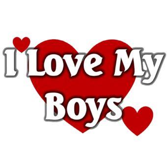 I love my boys