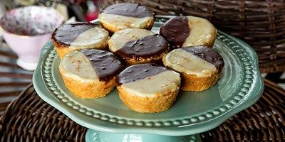 Try this Neenish Tarts recipe by Chef Maggie Beer.This recipe is from the show The Great Australian Bake Off.