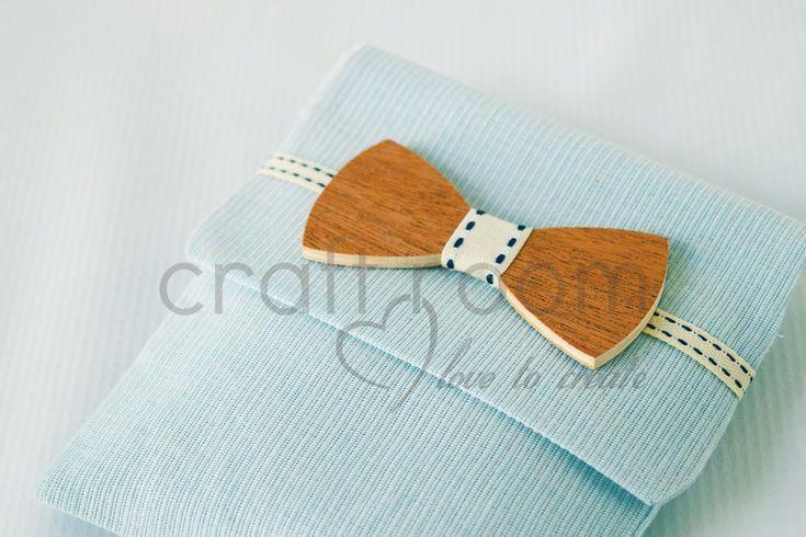 little man-ξύλινο παπιγιόν φάκελος - craft room