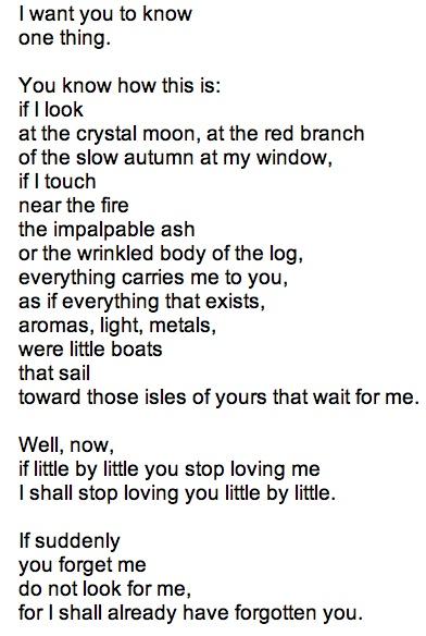 Love Poems Pablo Neruda 3
