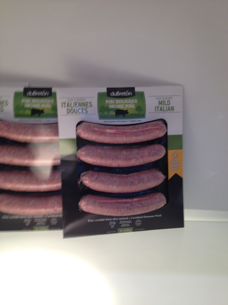 Du Breton's packaging and wonderful meats really stood out at the show.