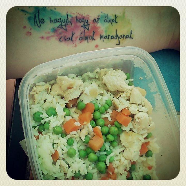 #lunch #diet  #tattoo