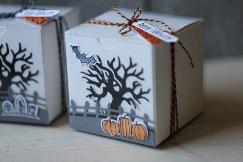 Halloweenbox Spooky Fun, gebastelt mit Produkten von Stampin' Up!