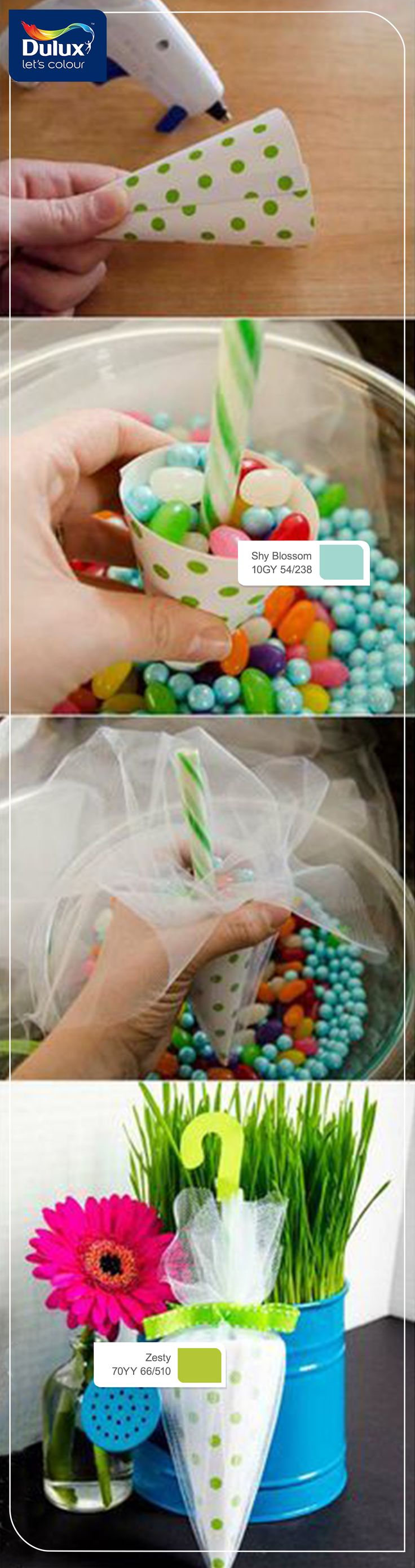 Candy Umbrella Shower Favors  Perfect For A Rain Or
