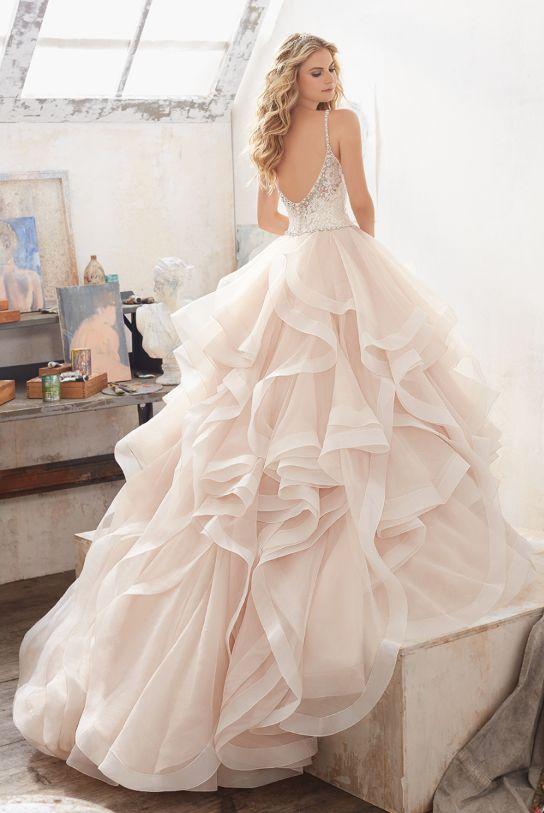 Featured Dress: Morilee Madeline Gardner; Wedding dress idea.