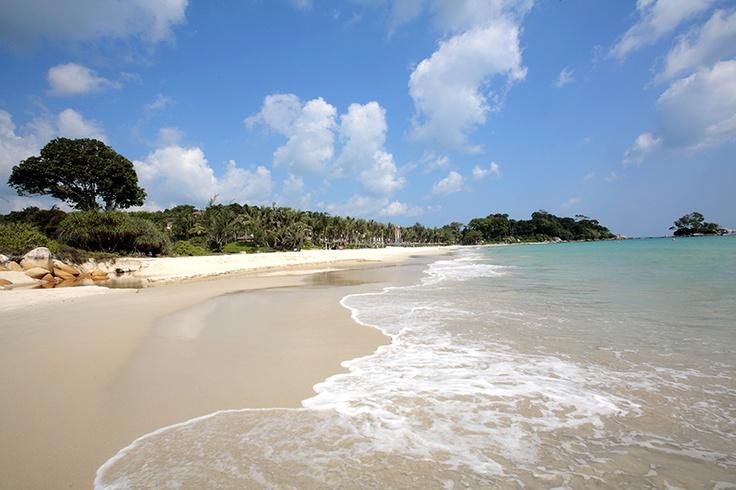 Una playa desierta en Club Med Bintan Island - Indonesia