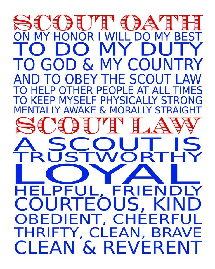 picture about Scout Oath Printable named Pin upon Boys Cub Scouts