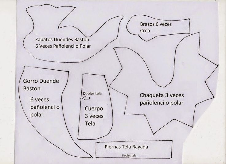 PAPIROLAS COLORIDAS: DUENDES NAVEDEÑOS.