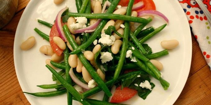 Crisp and Creamy Green Bean Salad