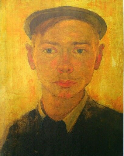 Jan Mankes, Self-Portrait , 1908 , Museum Belvédère , Heerenveen