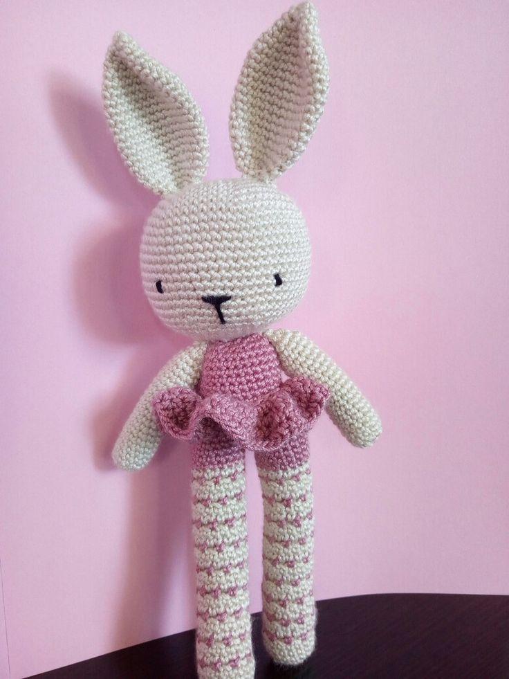 Conejita a crochet