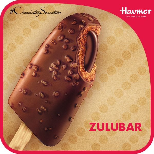 You can never have enough of chocolate; with the Zulubar Ice cream from Havmor now you can have more of crispy, tender and thick chocolate with every bite.