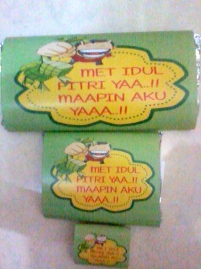 chocolate bar idul fitri