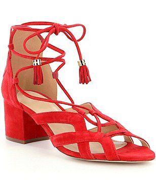 MICHAEL Michael Kors Mirabel Mid Ghillie Sandals