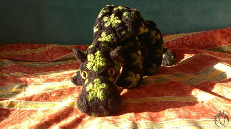 Afrcan flower dragon  ..... in progress. :D