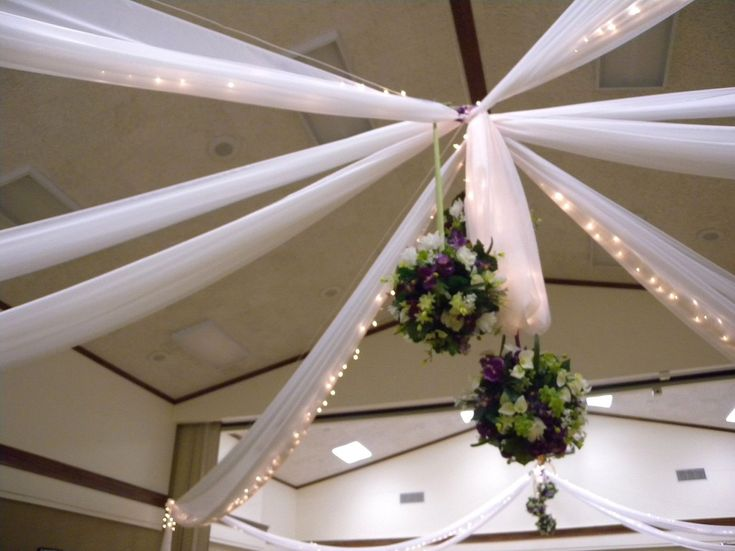 Wedding ceiling canopy rentals, False ceilings for parties, weddings, qinincerras, burlap ceiling, fabric ceilings, fabric canopy