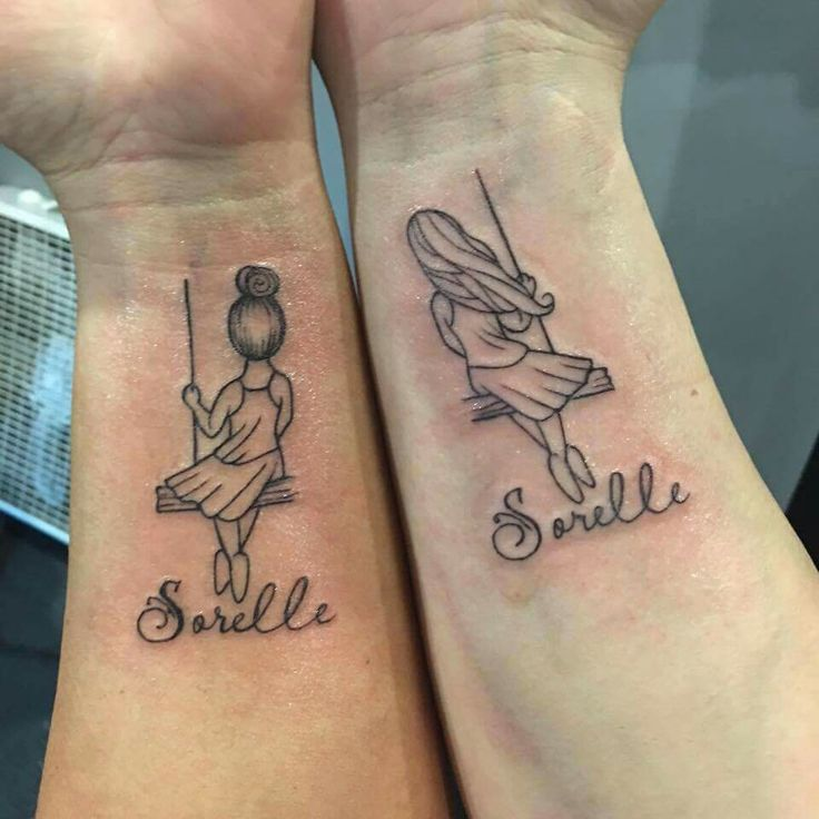 Sister tattoo sorelle is sisters in italian tattoo for Sister tattoos pinterest