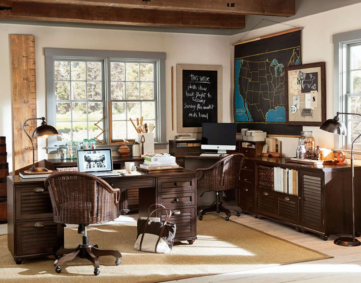 104 best PB - OFFICE images on Pinterest | Cubicles, Pottery barn ...