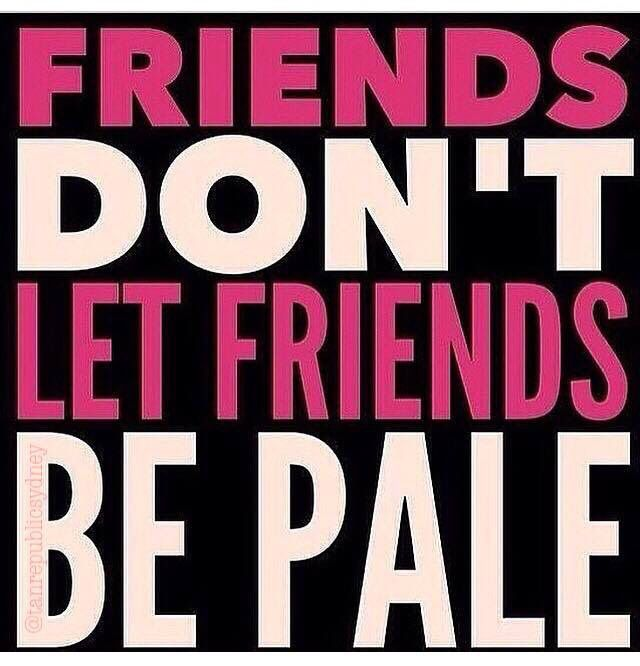 Tag friends that love a good SPRAY TAN.. Or your friends that need a TAN…