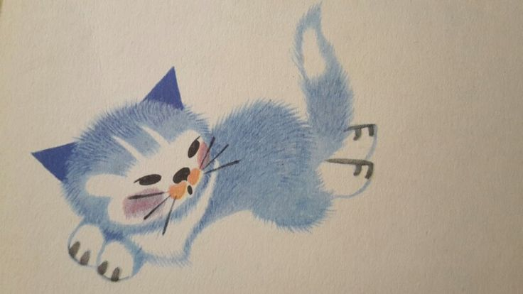 Zdenek Miler, Little blue cat