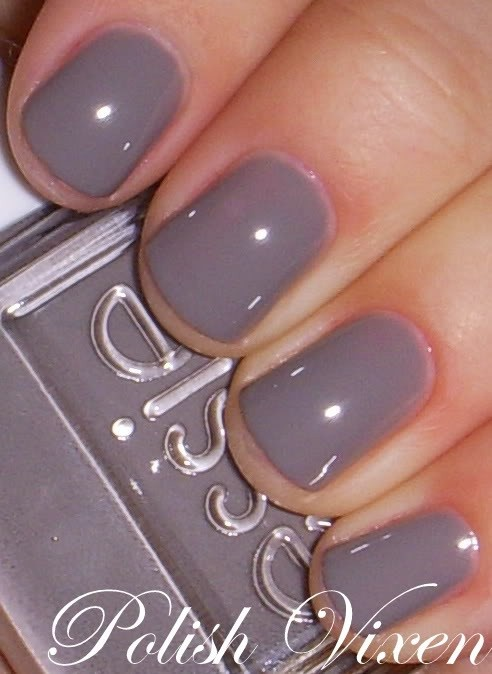 Essie Dark Gray Nail Polish Best Designs 2018