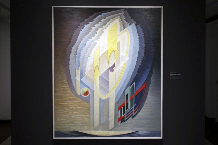 Lawren S, Harris Abstract Painting No. 95