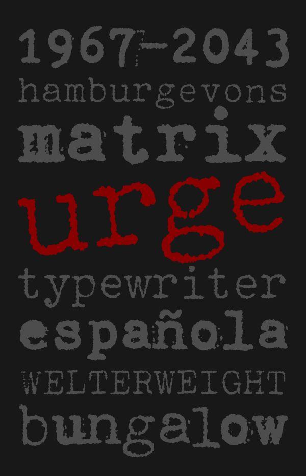 Consul Typewriter Pro™ by Vít Šmejkal, via Behance