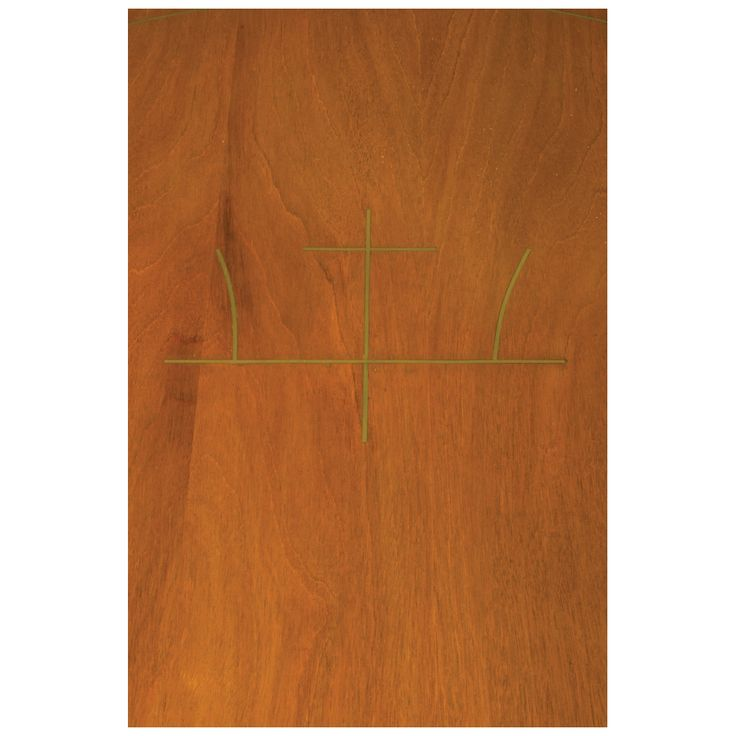 Frank Kyle Años 50. Mesa de centro. Elaborada en madera. Con cubierta circular y soportes torneados a manera de bambú. Decorada con aplicaciones lineales en latón dorado.