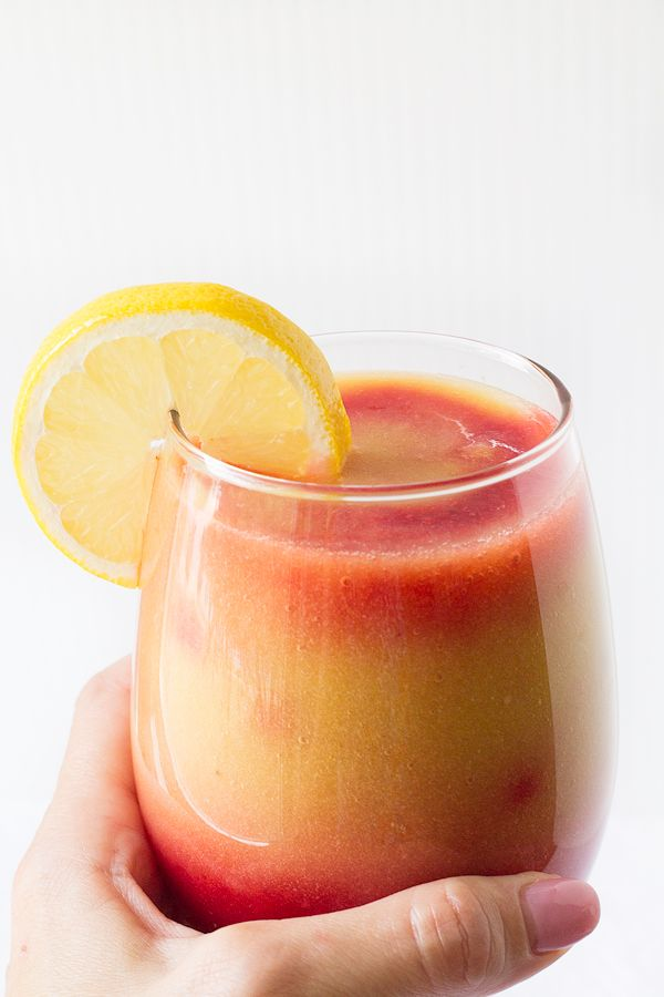 Sunrise Detox Smoothie - A nutrition packed smoothie filled with Vitamin C and yummy tropical flavors!