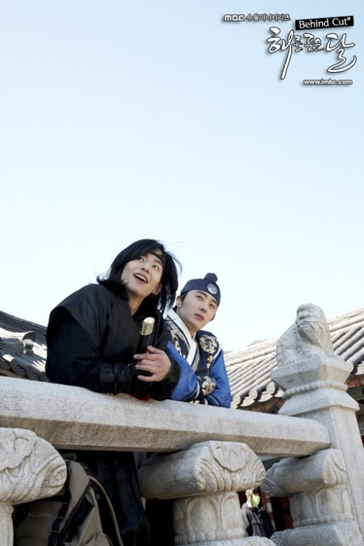 The Moon Embracing The Sun. Song Jae Rim and Jung Il Woo.