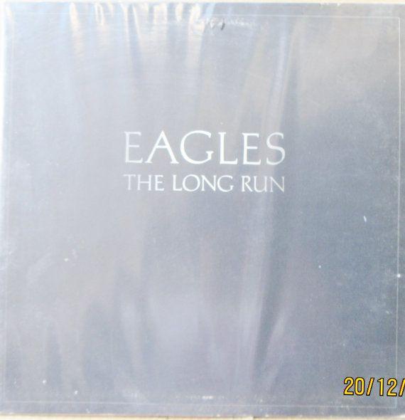 Vintage Original LP 33 Vinyl 1979 EAGLES The Long Run Asylum records 5E-508 Don Henley,Glenn Frey,Joe Walsh,Don Felder,Jimmy Buffett classic Rock,as