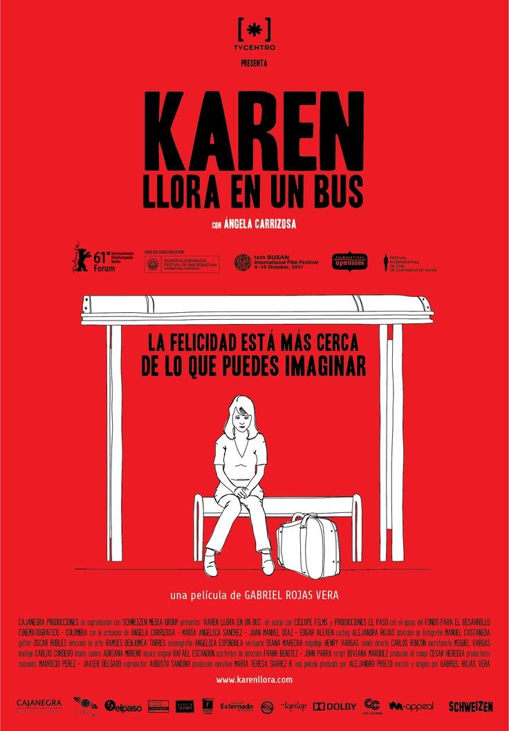 Karen llora en un bus, una película de la Semana del Cine Colombiano: http://www.mincultura.gov.co/semanadelcine/