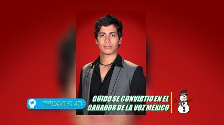 Guido Del Equipo Julion, Ganó La Voz México - Critica Novela Tv