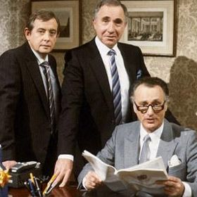 Yes Prime Minister (also Yes Minister). Fantastic intelligent political comedy, and a lot of it still relevant today.