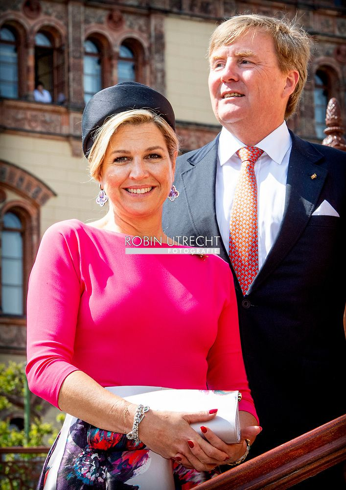 King Willem Alexander And Queen Maxima Of The Netherlands Visit