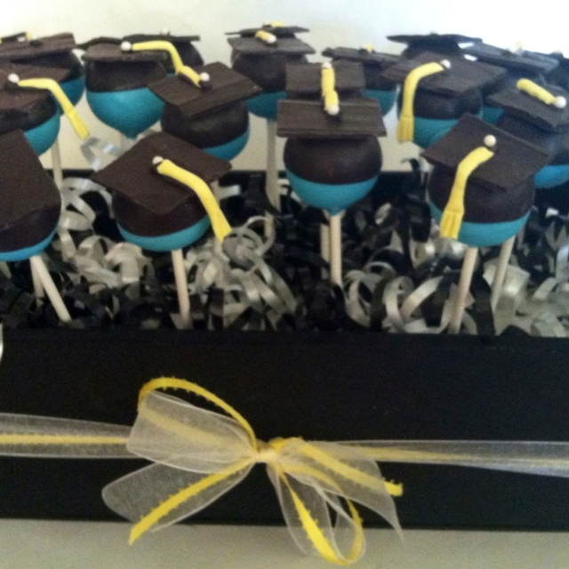 Kindergarten Graduation cake pops
